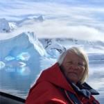 Heather Lane in the Antarctic