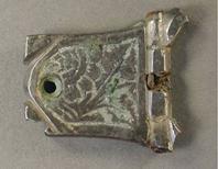 Medieval buckle plate